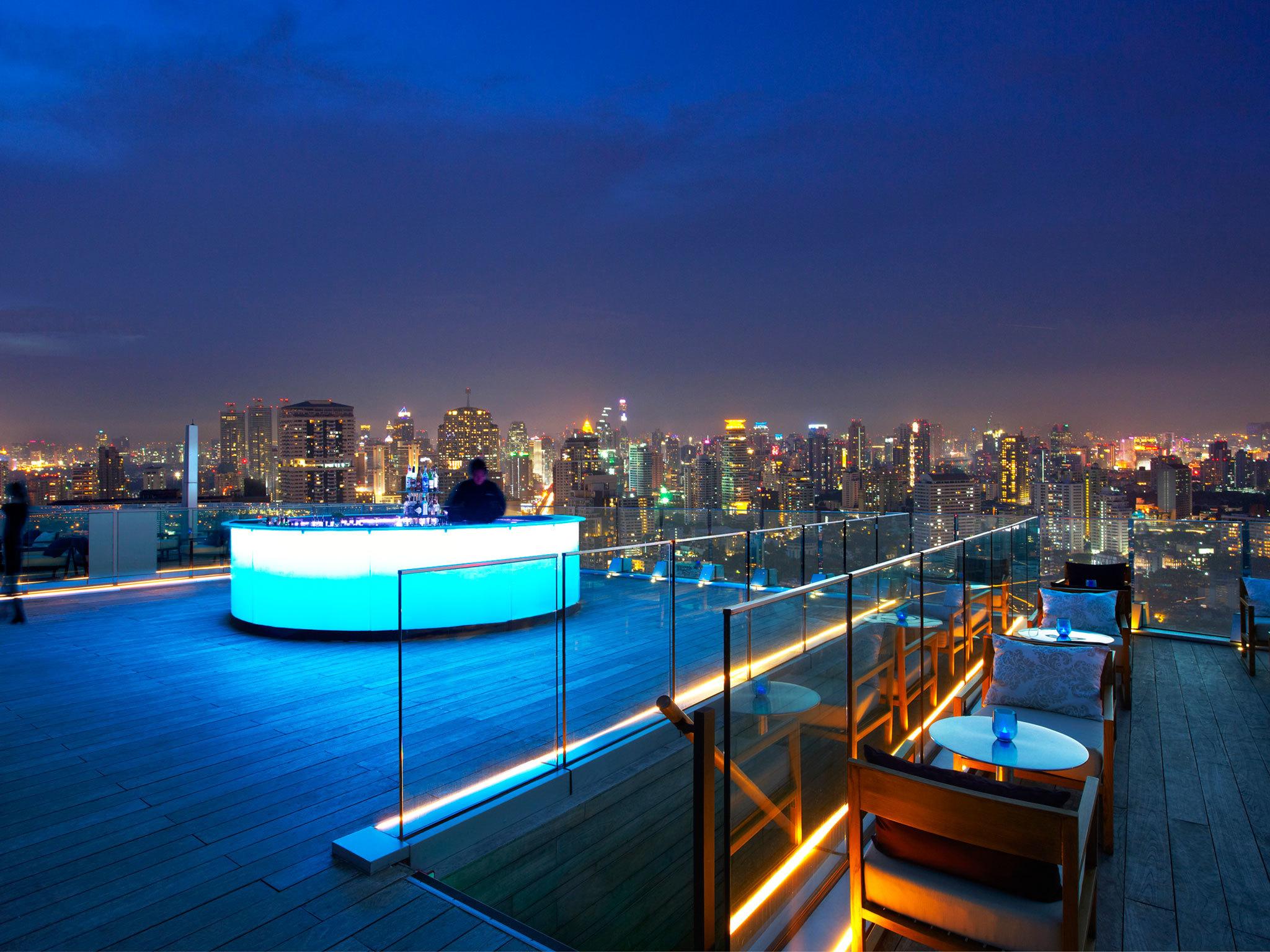 Rooftop Bars in Bangkok - Karte