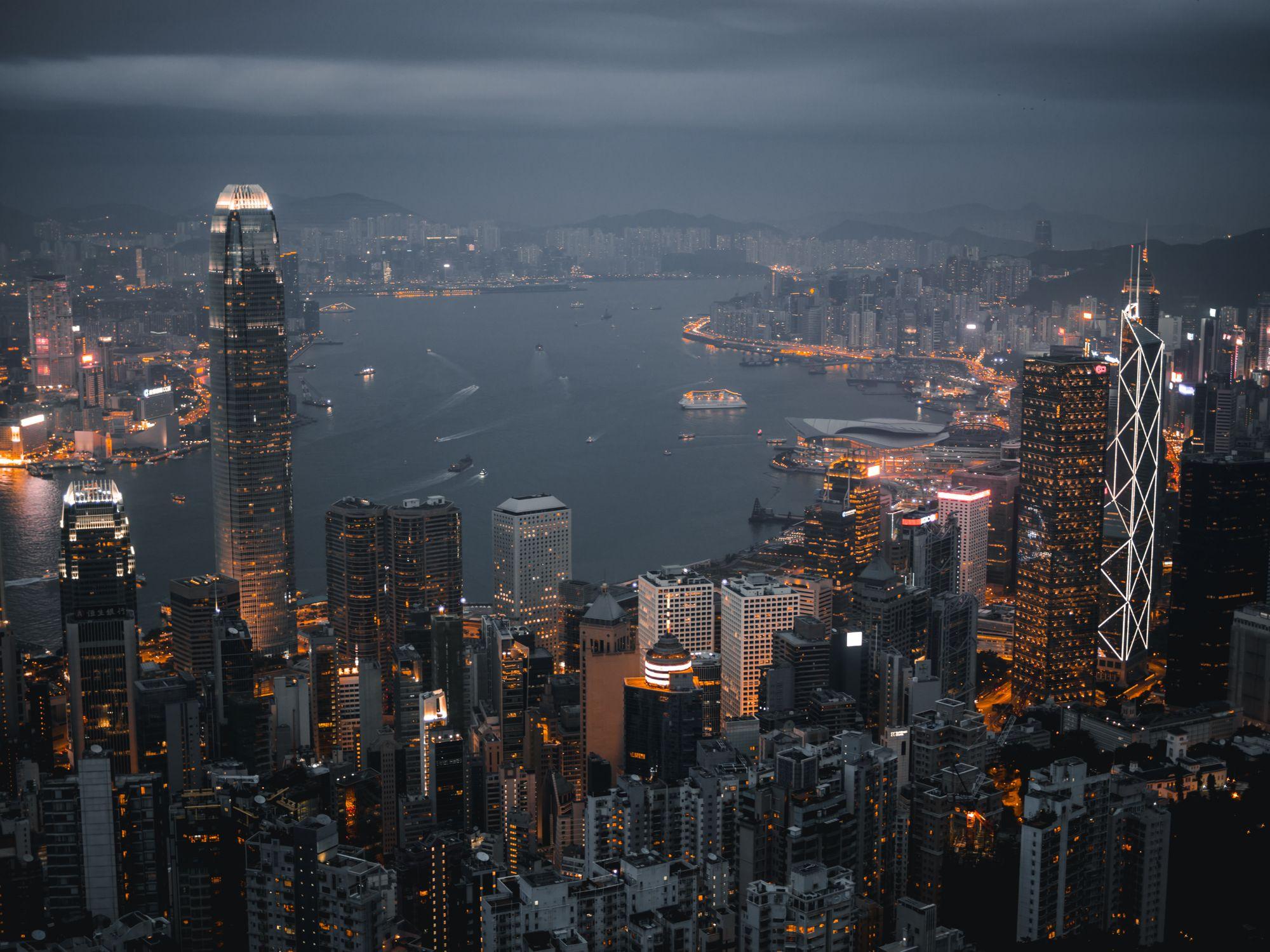 5 atemberaubende Rooftop-Bars in Hong Kong